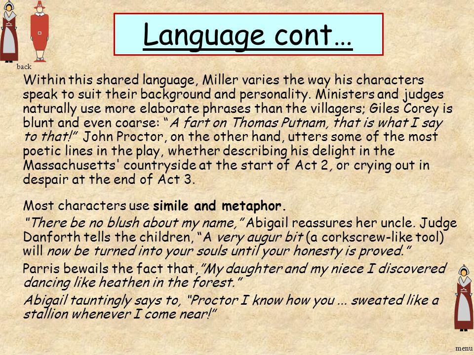 Language cont… back.