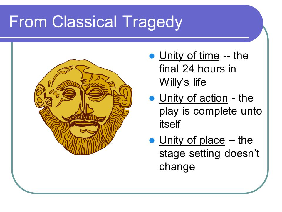 From Classical Tragedy