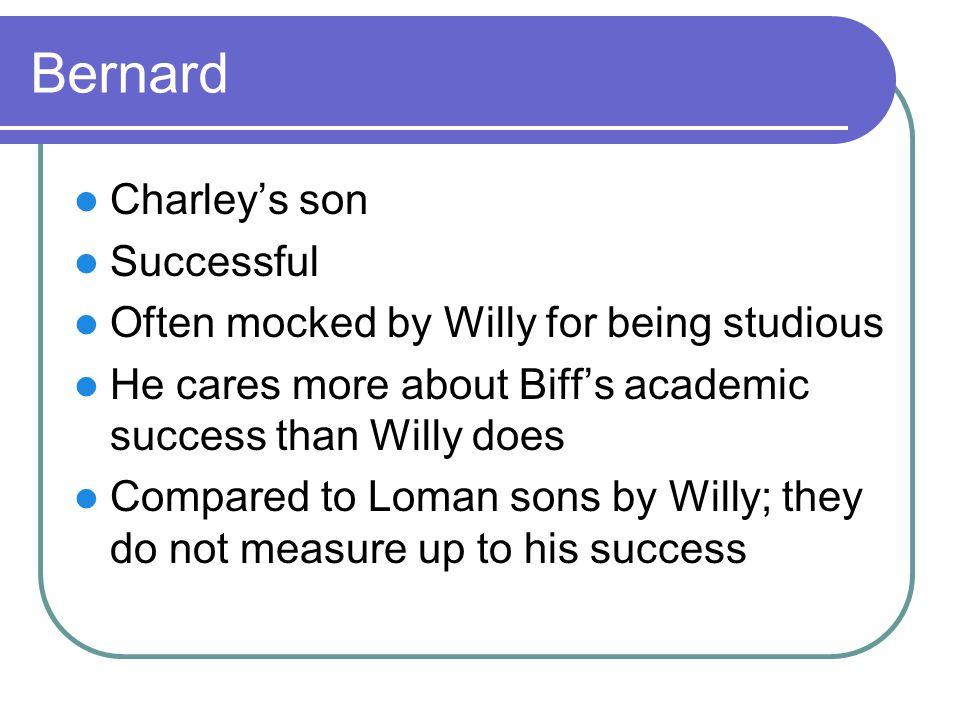 Bernard Charley's son Successful