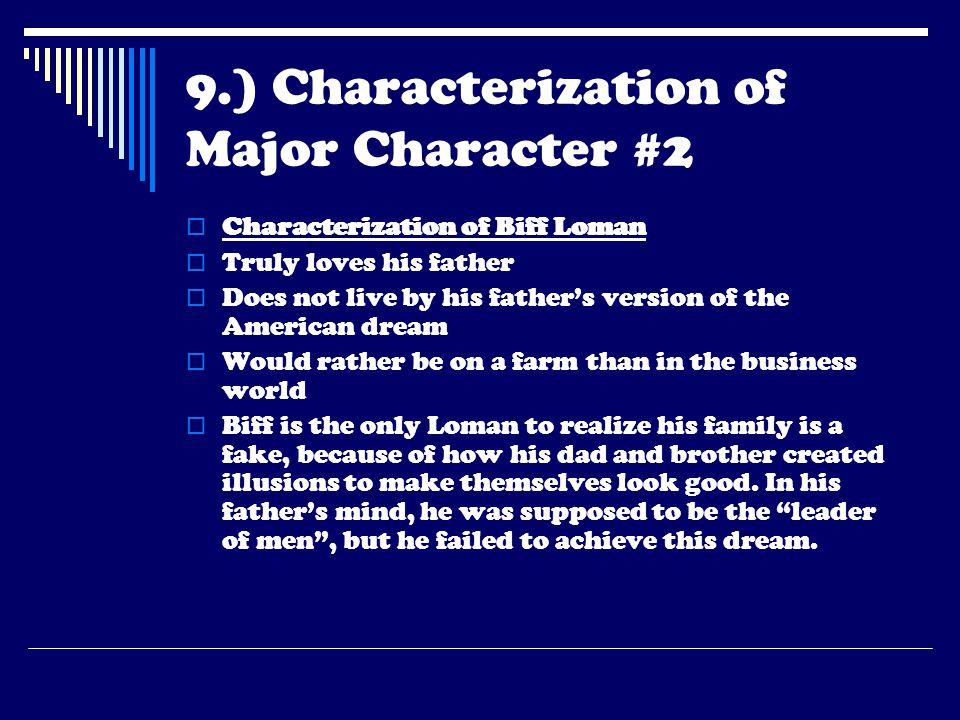 9.) Characterization of Major Character #2