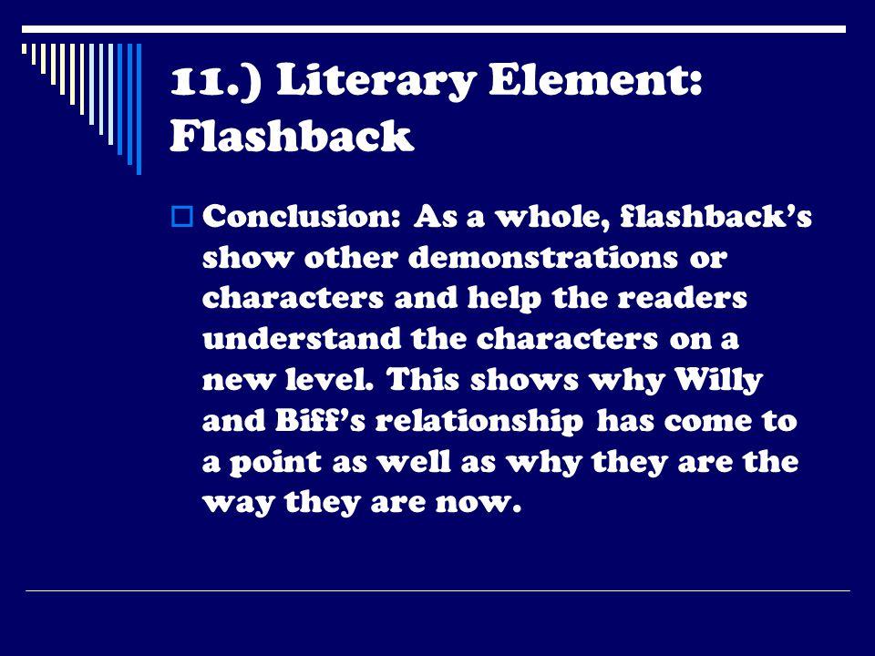 11.) Literary Element: Flashback