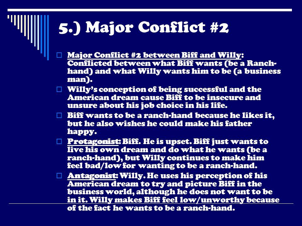 5.) Major Conflict #2