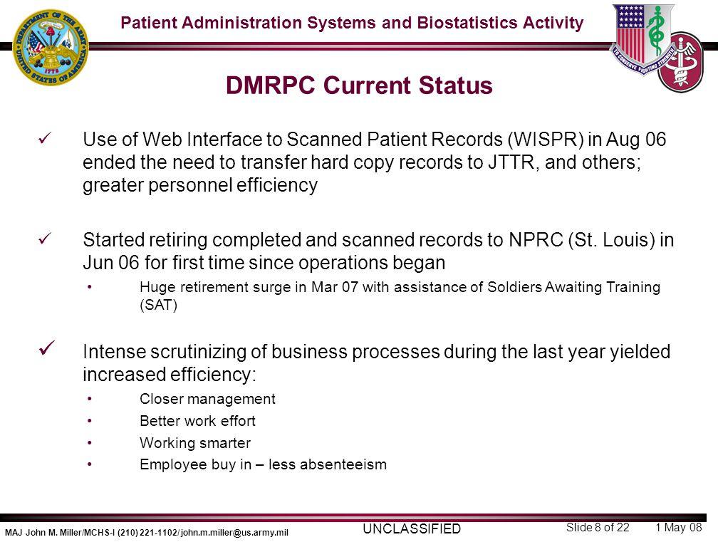 DMRPC Current Status