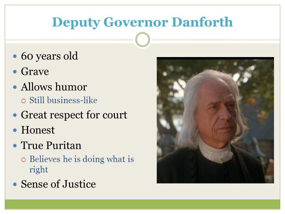 Deputy Governor Danforth