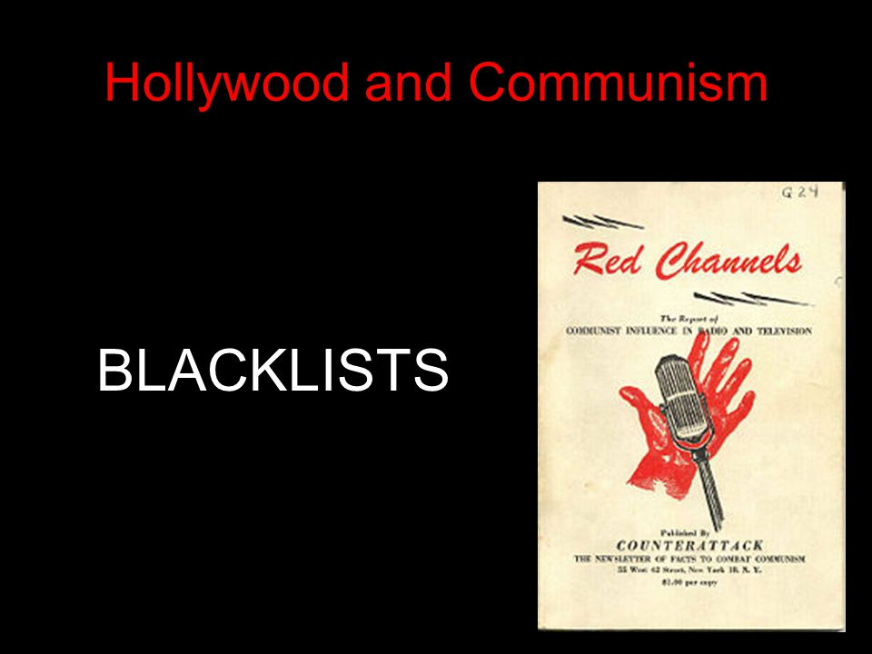 Hollywood and Communism
