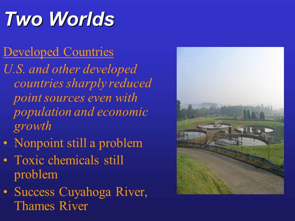 Two Worlds Developed Countries