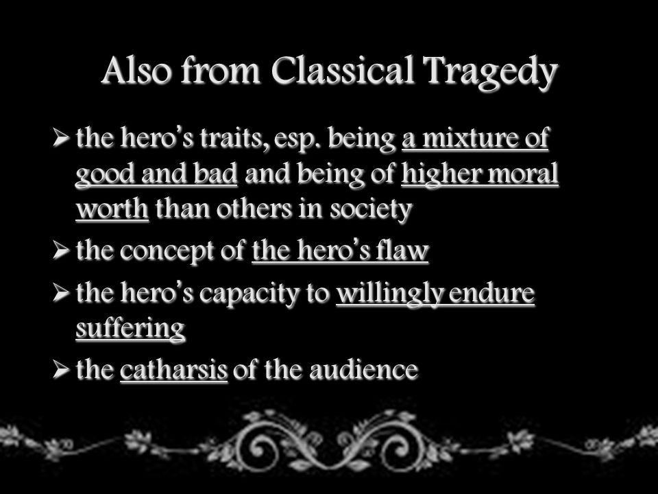 Also from Classical Tragedy