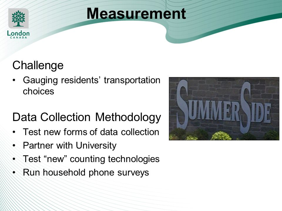 Measurement Challenge Data Collection Methodology