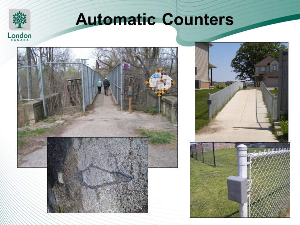 Automatic Counters Tried EcoCounter in two locations: