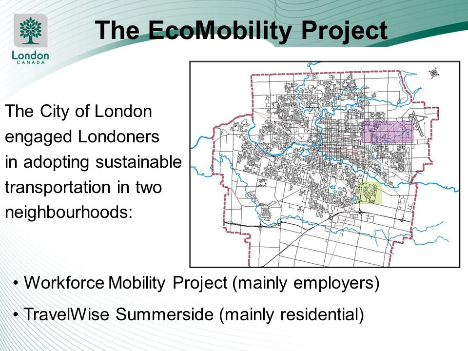 The EcoMobility Project