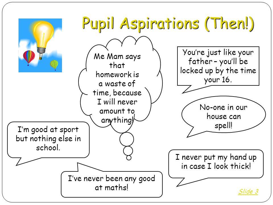 Pupil Aspirations (Then!)
