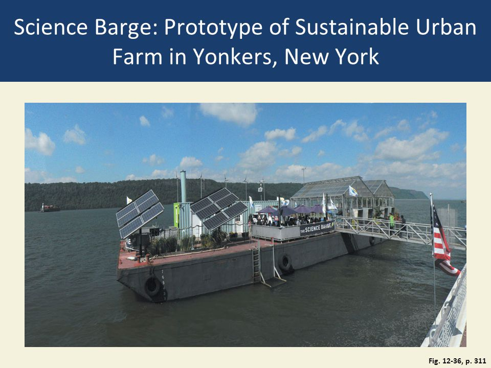 Science Barge: Prototype of Sustainable Urban Farm in Yonkers, New York