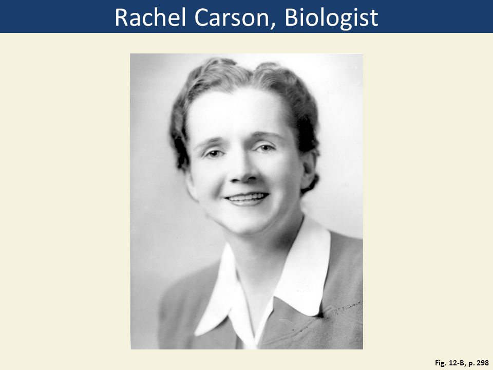 Rachel Carson, Biologist