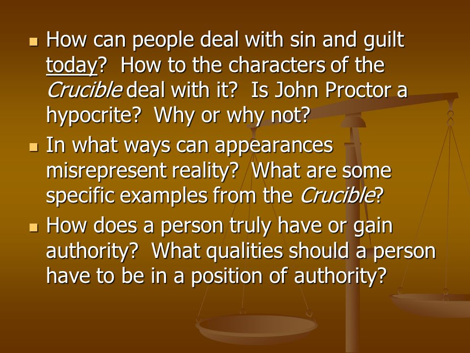 How can people deal with sin and guilt today