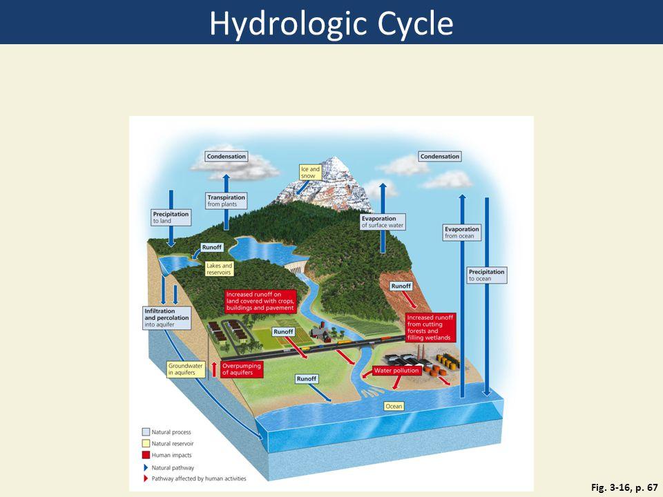 Hydrologic Cycle Figure 3.16: Natural capital.