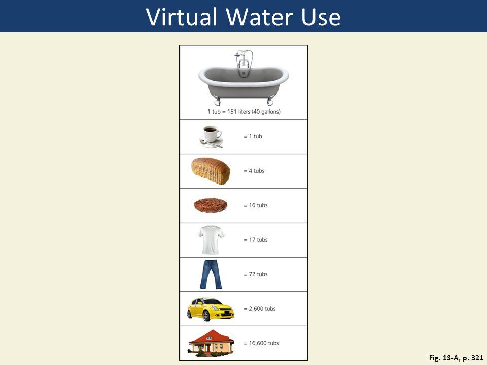 Virtual Water Use