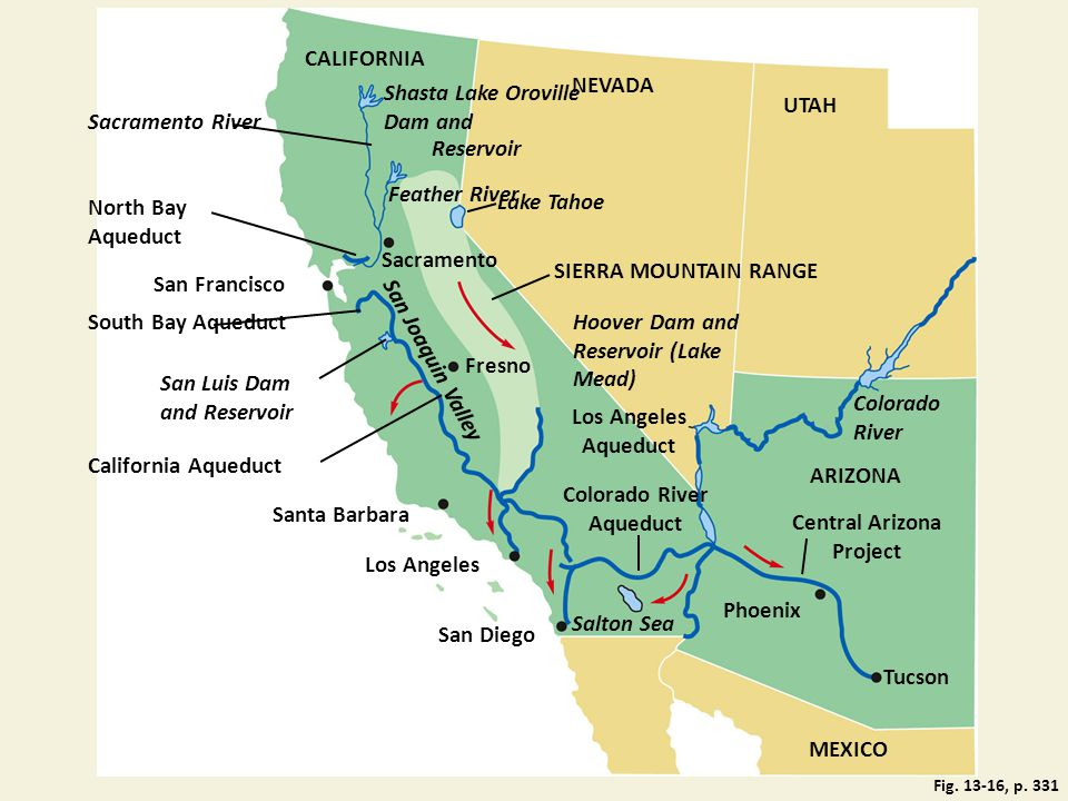 Colorado River Aqueduct Central Arizona Project