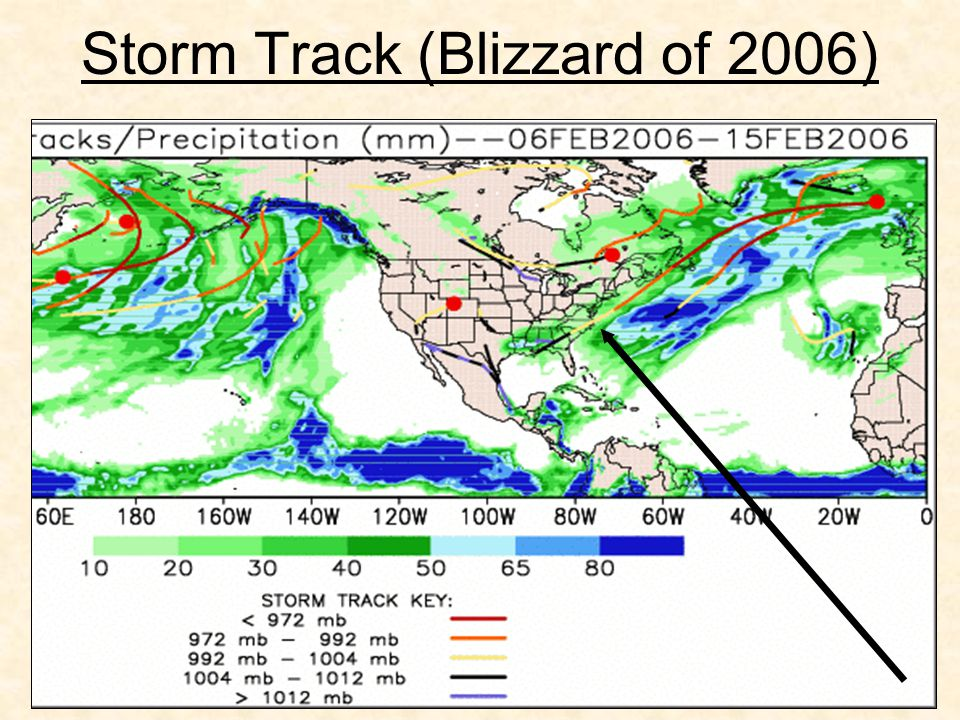 Storm Track (Blizzard of 2006)