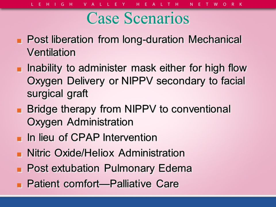 Case Scenarios Post liberation from long-duration Mechanical Ventilation.