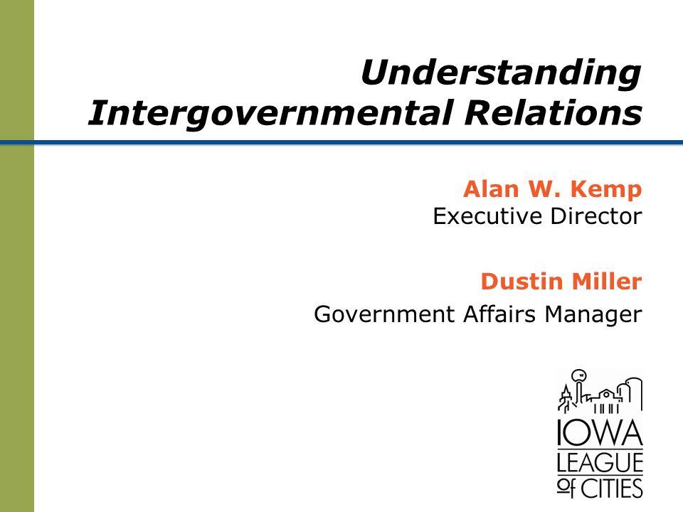 Understanding Intergovernmental Relations