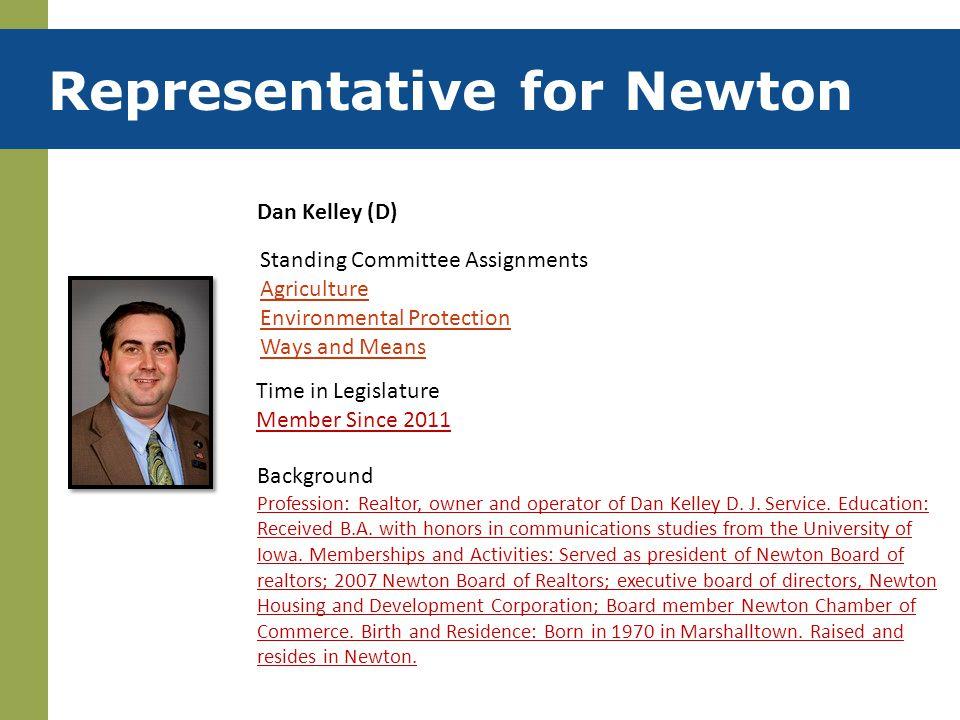 Representative for Newton