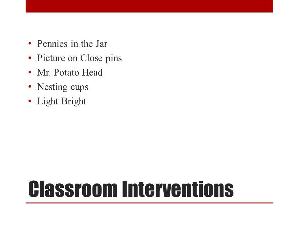 Classroom Interventions