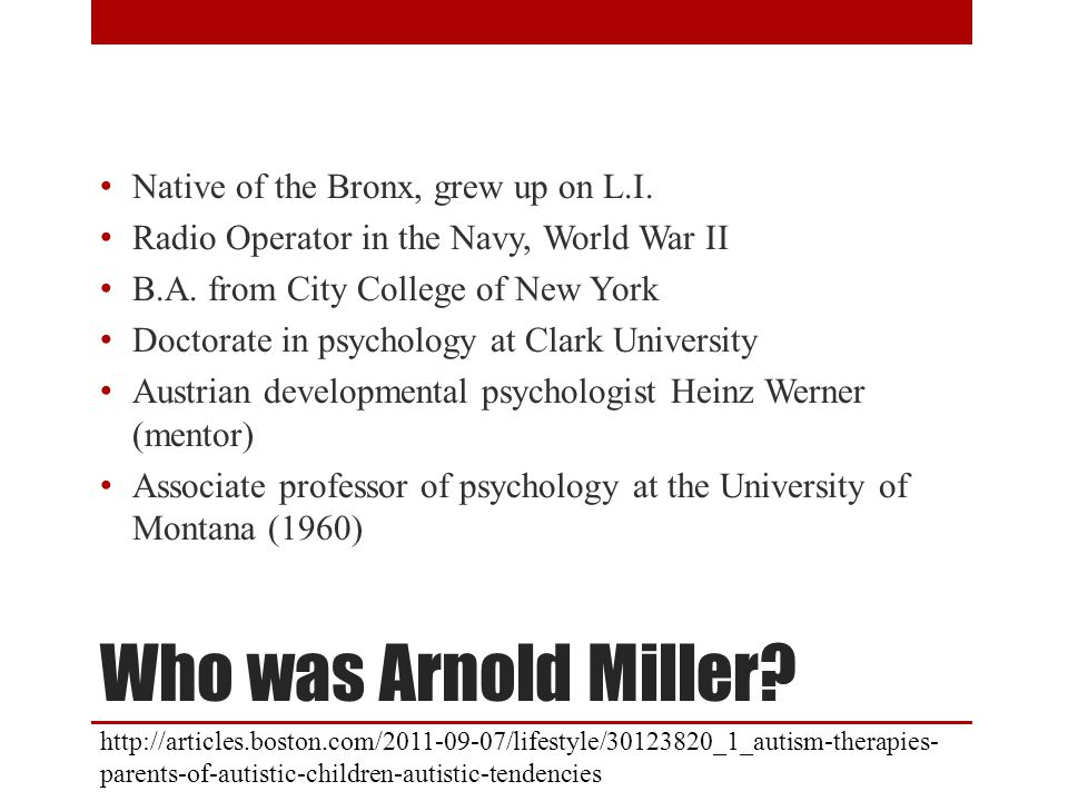 Who was Arnold Miller Native of the Bronx, grew up on L.I.