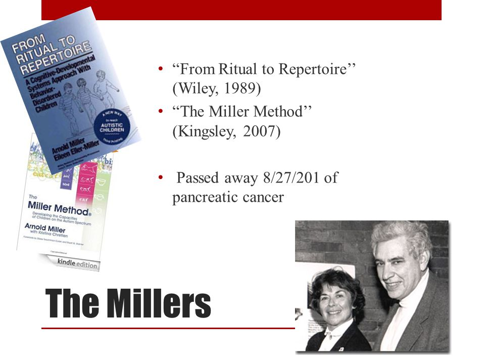 The Millers From Ritual to Repertoire'' (Wiley, 1989)