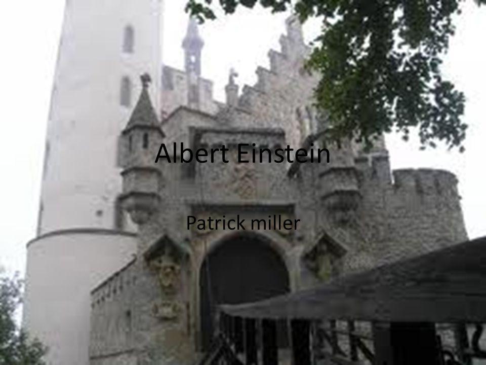 Albert Einstein Patrick miller