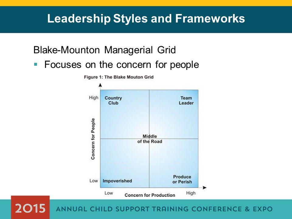Leadership Styles and Frameworks