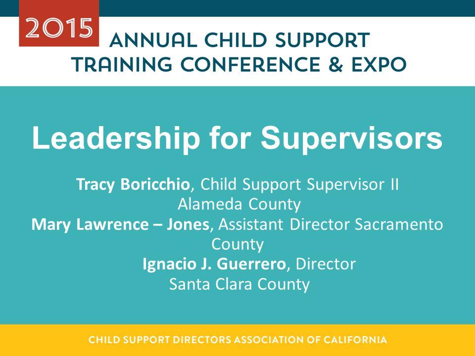 Leadership for Supervisors