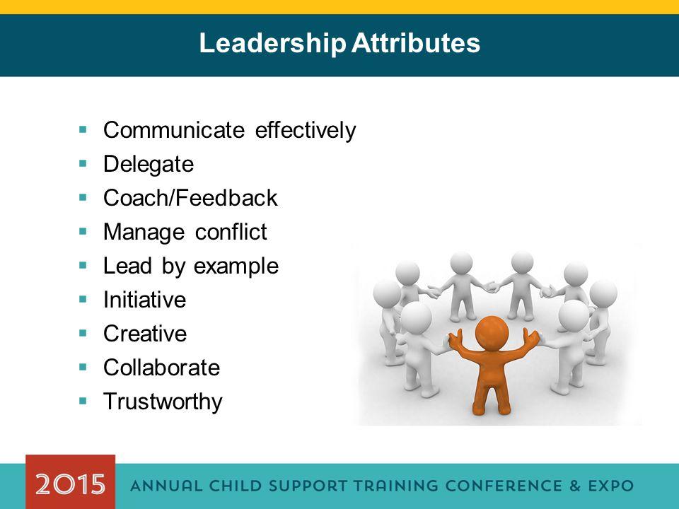 Leadership Attributes