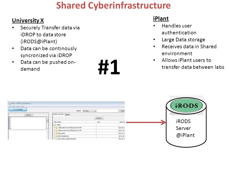Shared Cyberinfrastructure