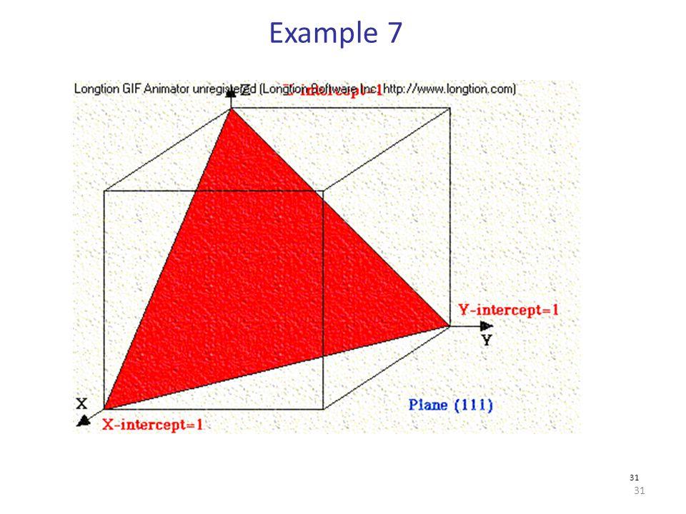 Example 7 31