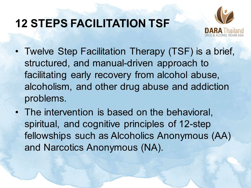 12 Steps Facilitation TSF