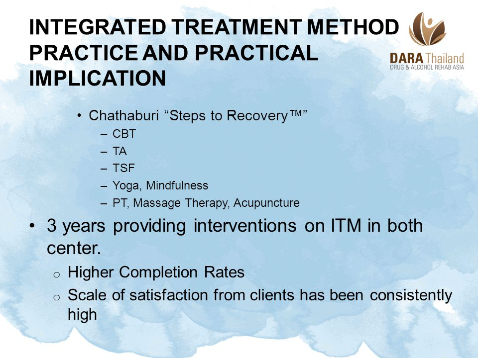 integrated Treatment Method Practice and Practical Implication