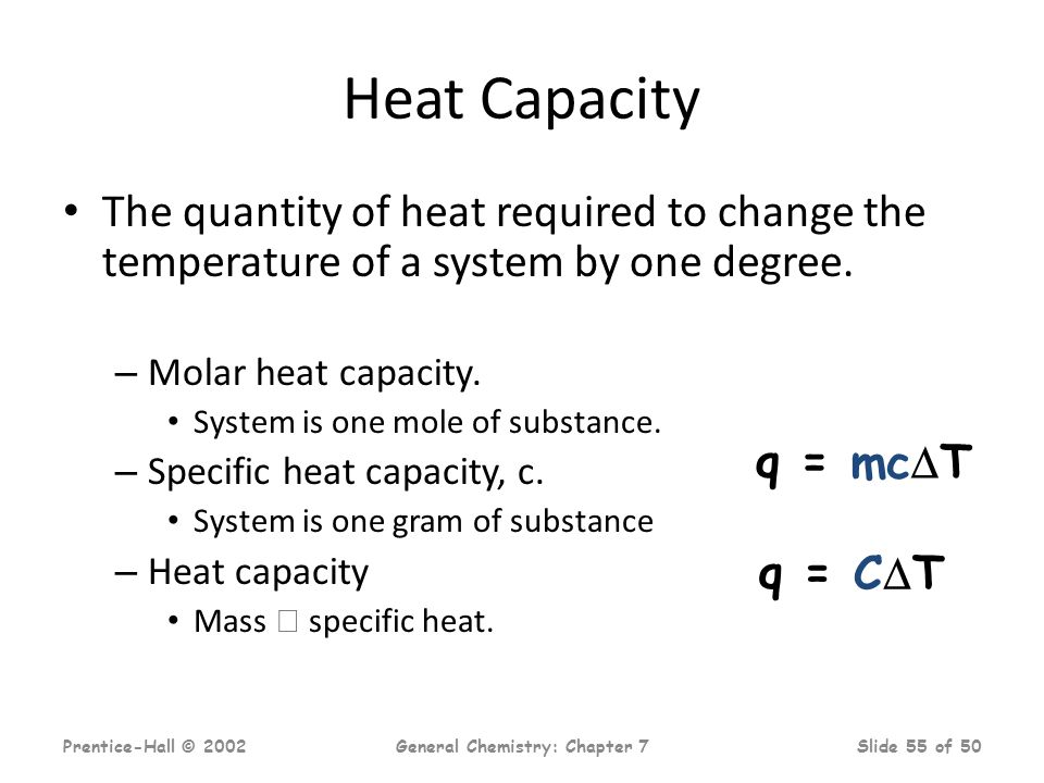 chemistry ia measuring heat capacity Physics 12 ib specific heat capacity rajesh swaminathan june 18, 2006 1 aim to identify an unknown material by measuring its specific heat capacity.