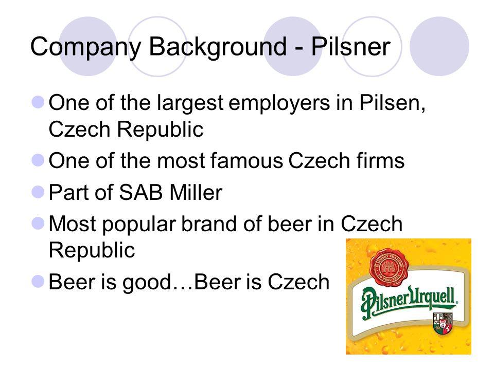 Company Background - Pilsner