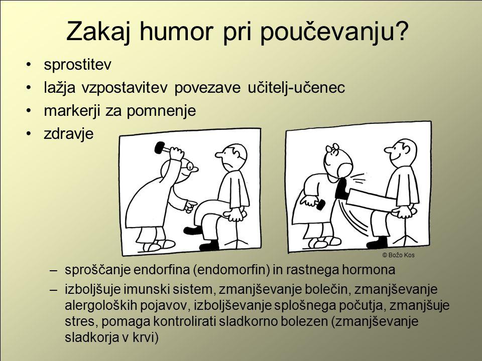 Zakaj humor pri poučevanju