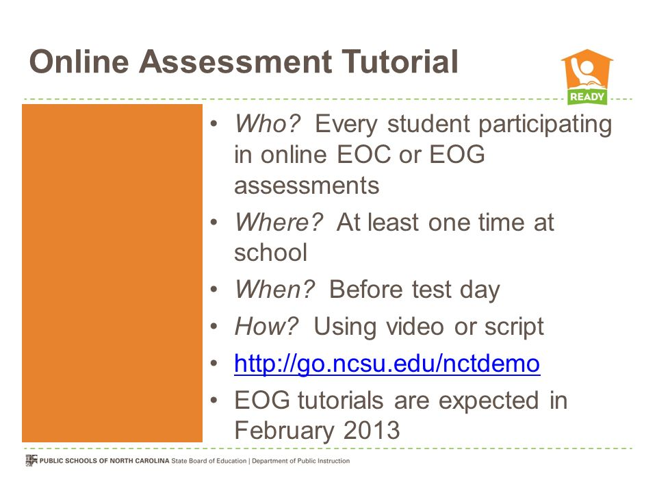 Online Assessment Tutorial