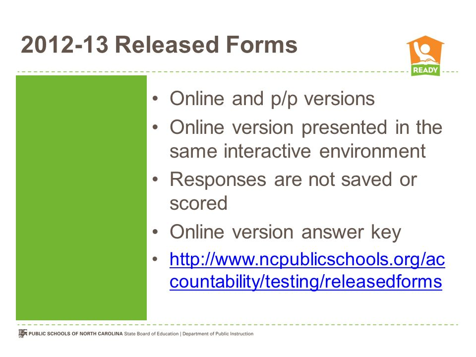 2012-13 Released Forms Online and p/p versions
