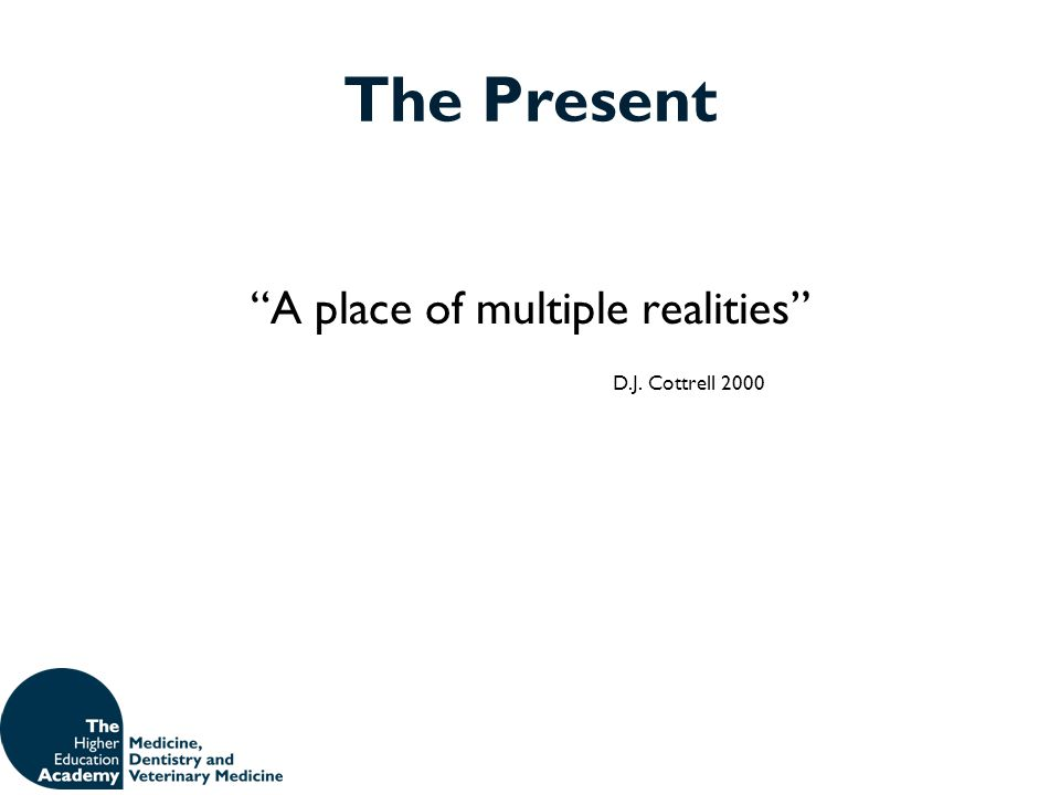 A place of multiple realities