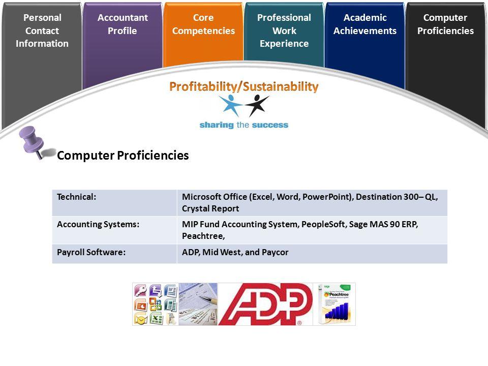 Profitability/Sustainability