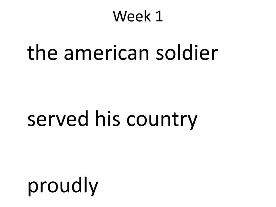 the american soldier served his country proudly