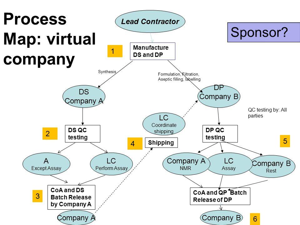 Process Map: virtual company