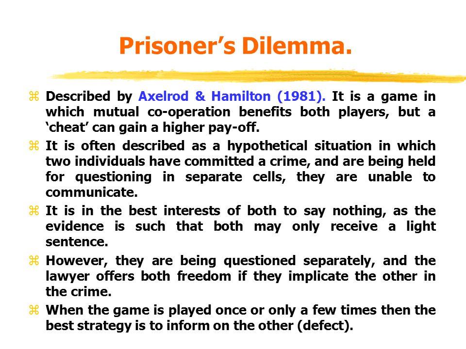 Prisoner's Dilemma.