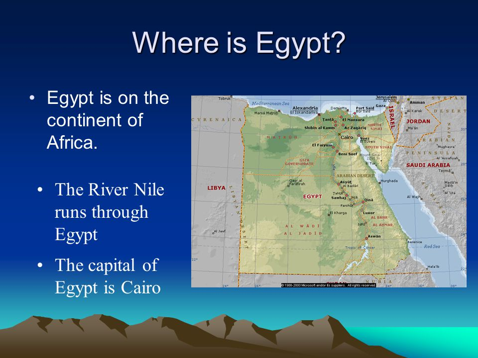 Egypt And The Nile River Valley System Ppt Video Online Download - Is egypt in africa