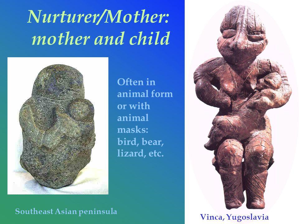 Nurturer/Mother: mother and child