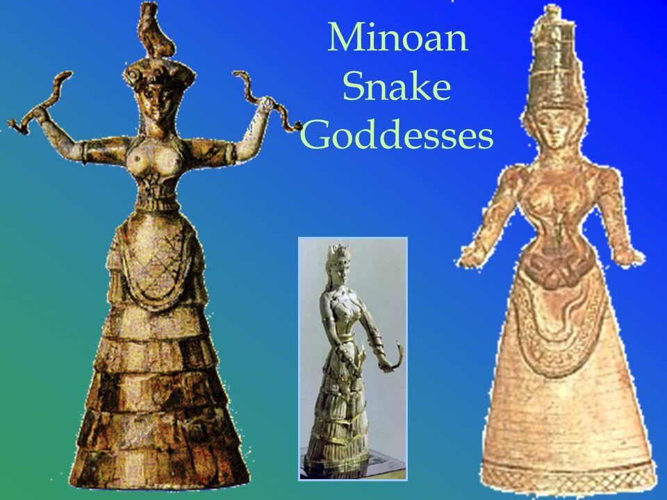 Minoan Snake Goddesses