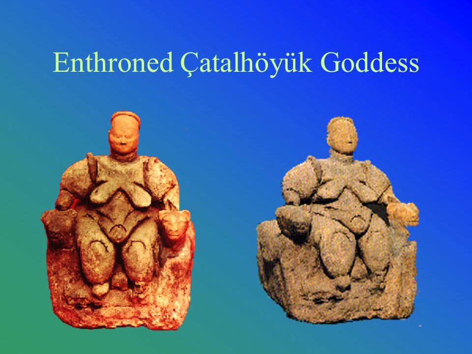 Enthroned Çatalhöyük Goddess